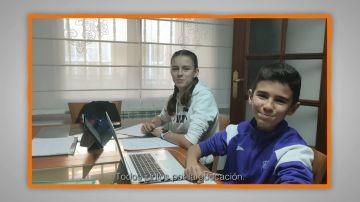 Mensajes para agradecer a profesores y familias: Antonio y Noelia García