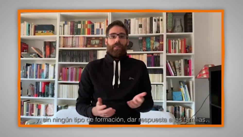 Mensajes para agradecer a profesores y familias: Julián de Gregorio