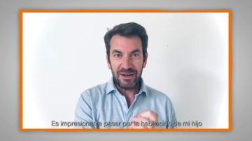 Mensajes para agradecer a profesores y familias: Arturo Valls