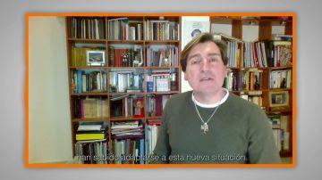 Mensajes para agradecer a profesores y familias: Toni García