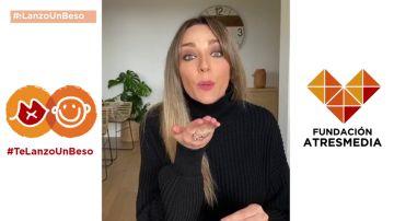Anna Simón se une a la campaña social #TeLanzoUnBeso