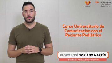 El enfermero Pedro Soriano