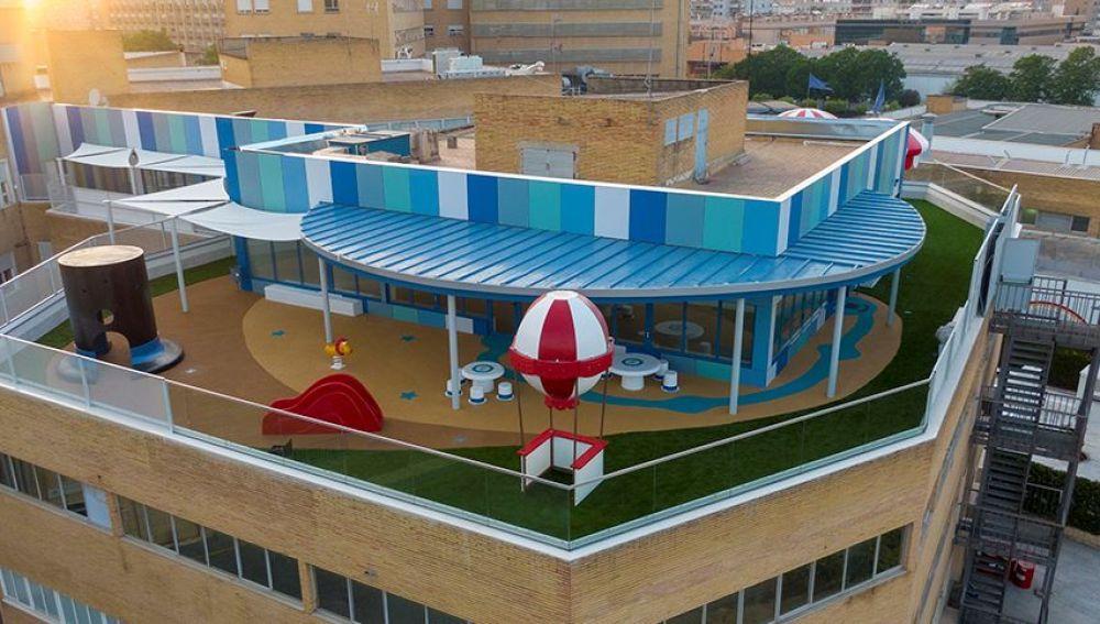 Azotea Azul del Hospital Universitario Virgen del Rocío