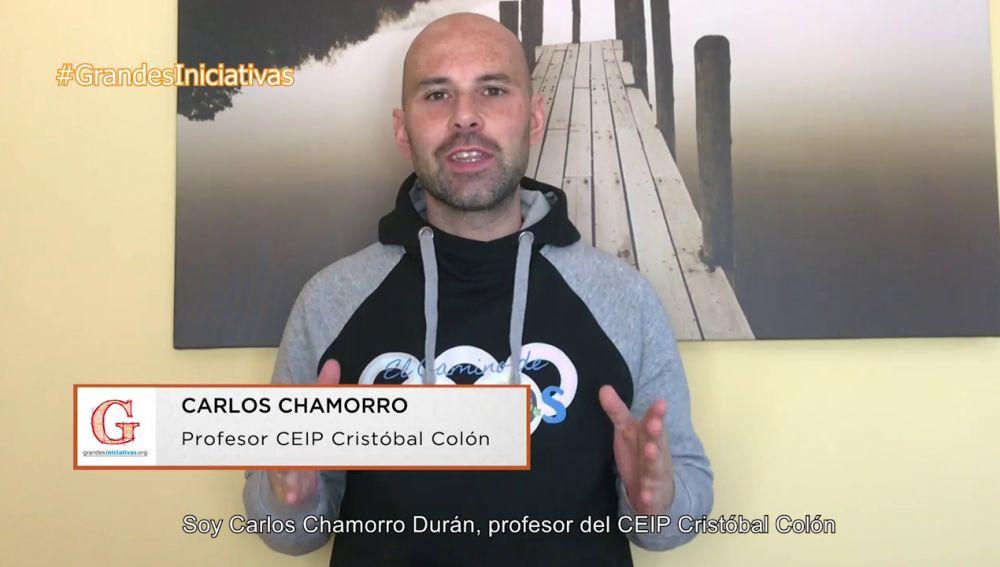 La experiencia del profesor Carlos Chamorro en los premios Grandes Iniciativas