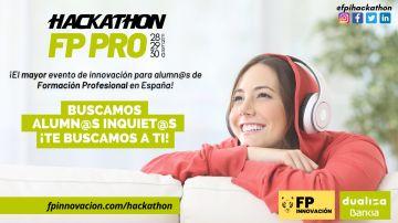 Hackathon para estudiantes de FP