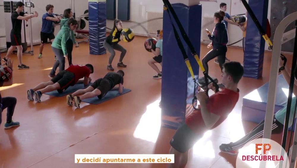 El ciclo de Enseñanzas y Actividades Sociodeportivas ayuda a los alumnos a prepararse para el futuro