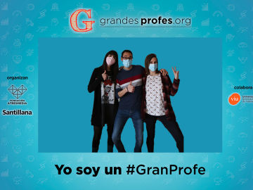 Photocall virtual ¡Grandes Profes! 2021