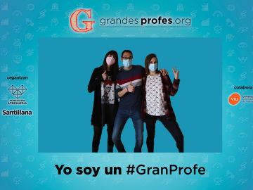 Photocall virtual ¡Grandes Profes! 2021
