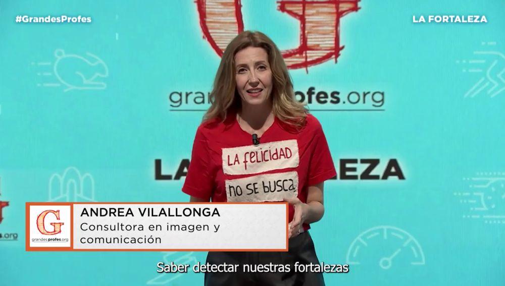 Mejores momentos de Andrea Vilallonga en Grandes Profes