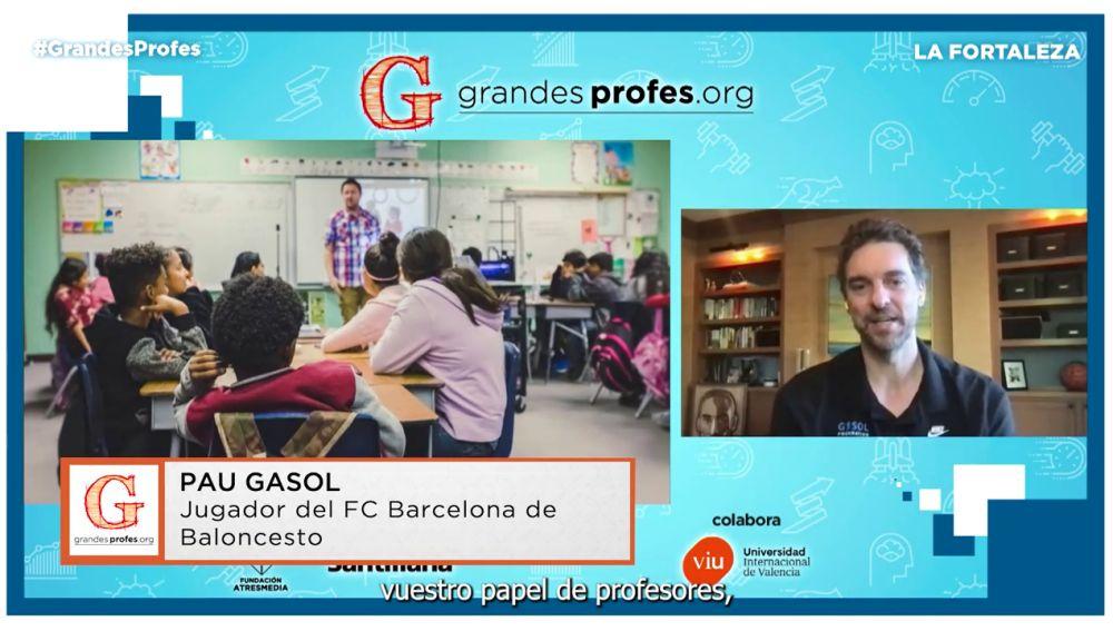 Mejores momentos de Pau Gasol en el encuentro Grandes Profes