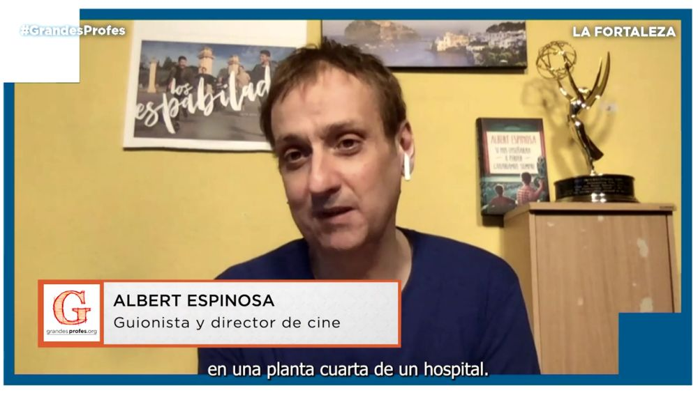 Mejores momentos de Albert Espinosa en Grandes Profes