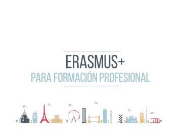 Erasmus+ para Formación Profesional