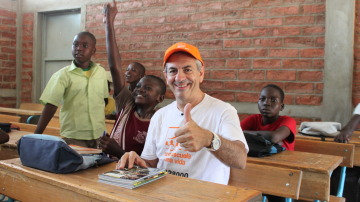 Carlos Sobera en Chad