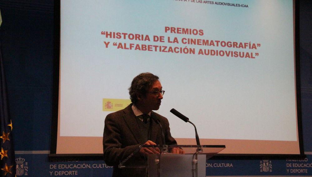 Entrega de los premios 'Historia de la Cinematografía'