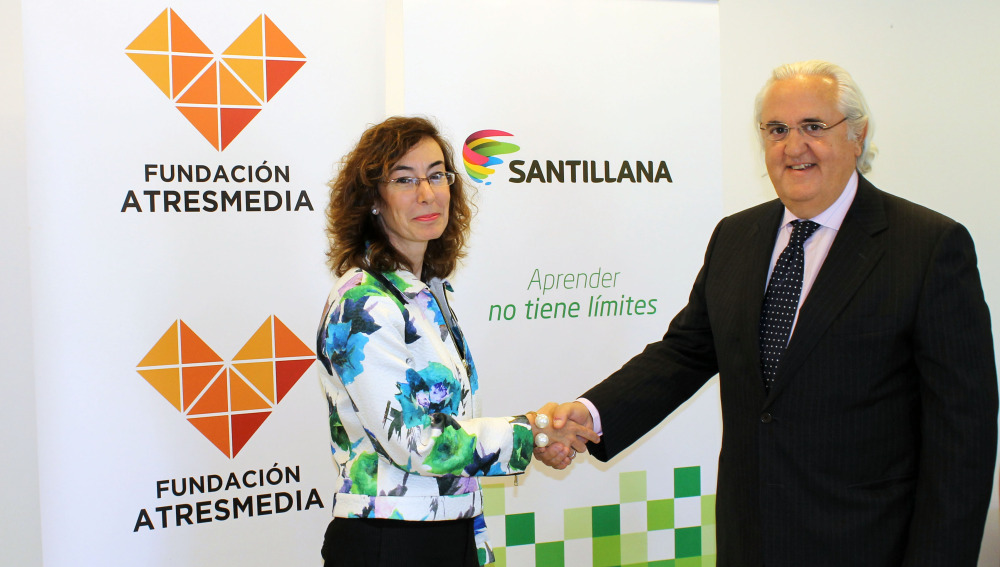 Fundación Atresmedia y Santillana se unen en Iniciativas que educan