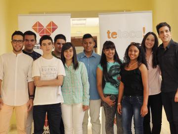 Jurado juvenil Te Toca 2014