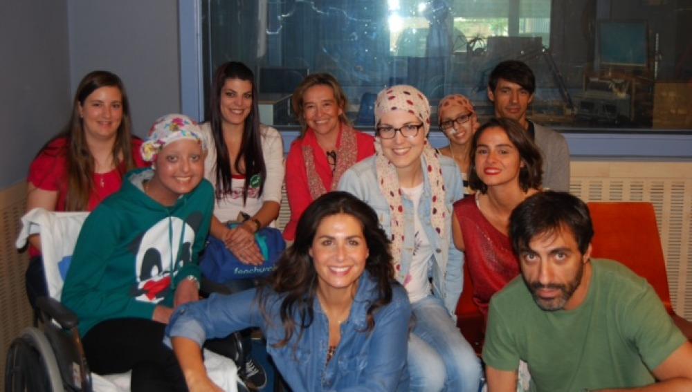 Las chicas de la AAA disfrutan del programa de Nuria Roca