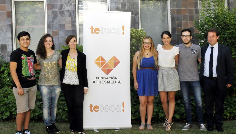 Los ganadores Te Toca! 2014 reciben su primer premio