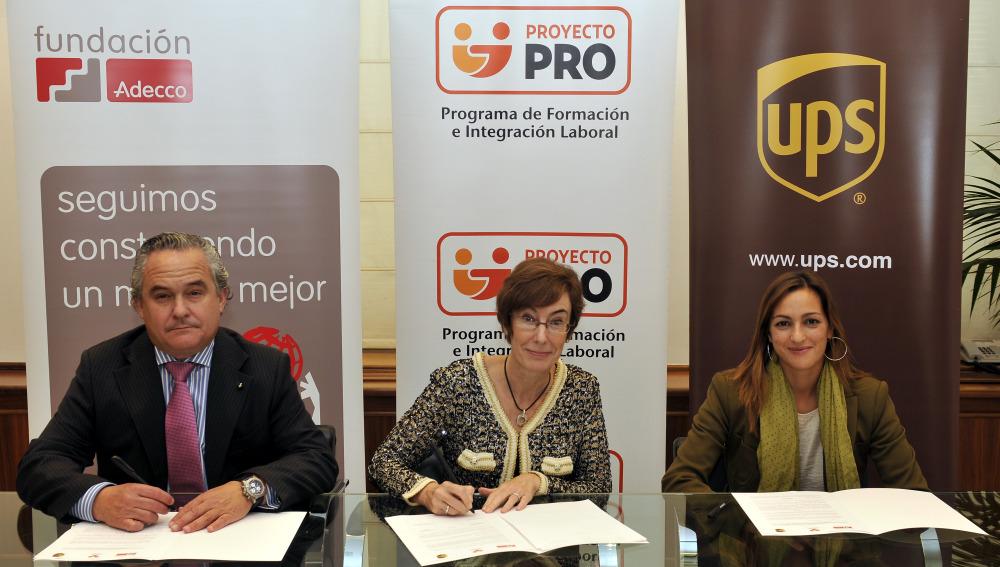 UPS y la Fundación Adecco apoyan con siete becas el curso de radio del Proyecto PRO de la Fundación ATRESMEDIA
