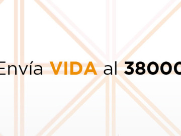 Colabora con un SMS al 38000