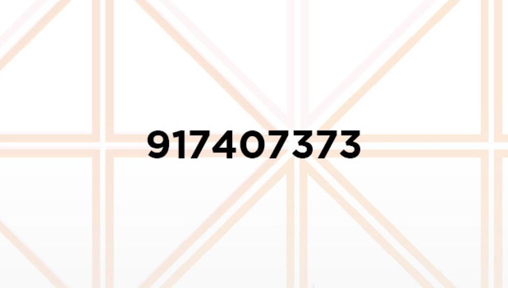 Colabora llamando al 917407373