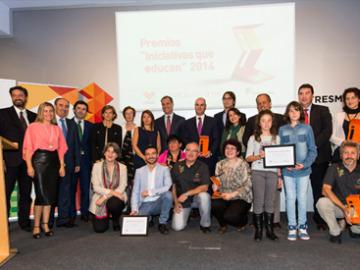 La Fundación Atresmedia entrega los premios 'Iniciativas que Educan'