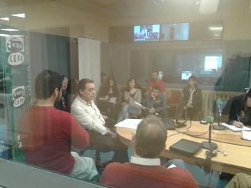 El  periodista Paco de León imparte el Taller de Locución de Proyecto PRO