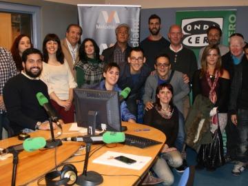 Clases de reporterismo en el nuevo taller de radio