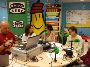Los niños del hospital de León, nuevas estrellas de la radio