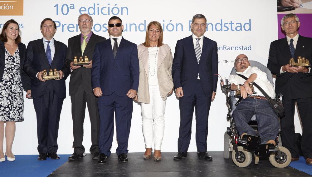 La Fundación Atresmedia, en la gala de entrega de los Premios Randstad