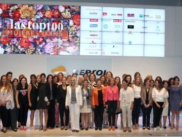 Carmen Bieger y Lary León, TOP 100 Mujeres Líderes 2014