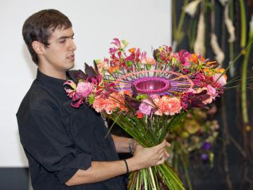 Alejandro Molina, primer clasificado de la Copa Floral Junior 2014