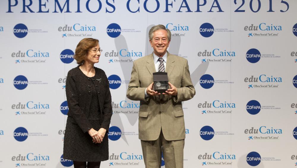 Carmen Bieger, directora de la Fundación Atresmedia con Juan Raúl Sanz Jiménez, director general de la Fundación Española de  Bancos de Alimentos