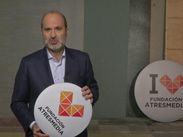 Saludo Javier Bardají - Fundación Atresmedia