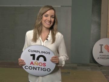 Saludo Erika Barreras - Fundación Atresmedia