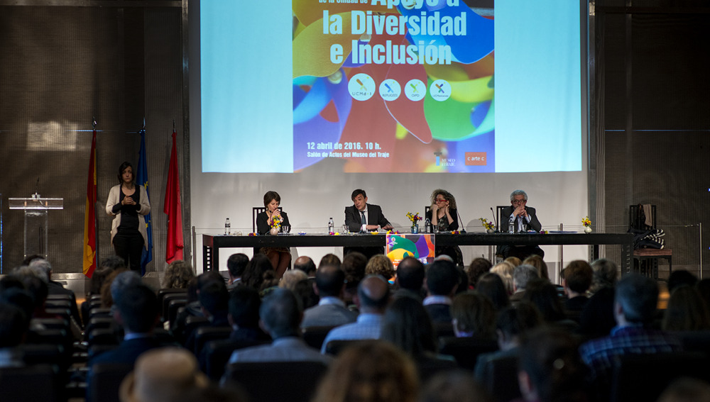 Apoyamos la unidad de diversidad e inclusión de la UCM
