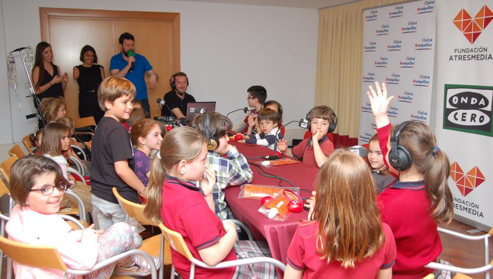 Taller de radio en la Clínica Montpellier, de Zaragoza