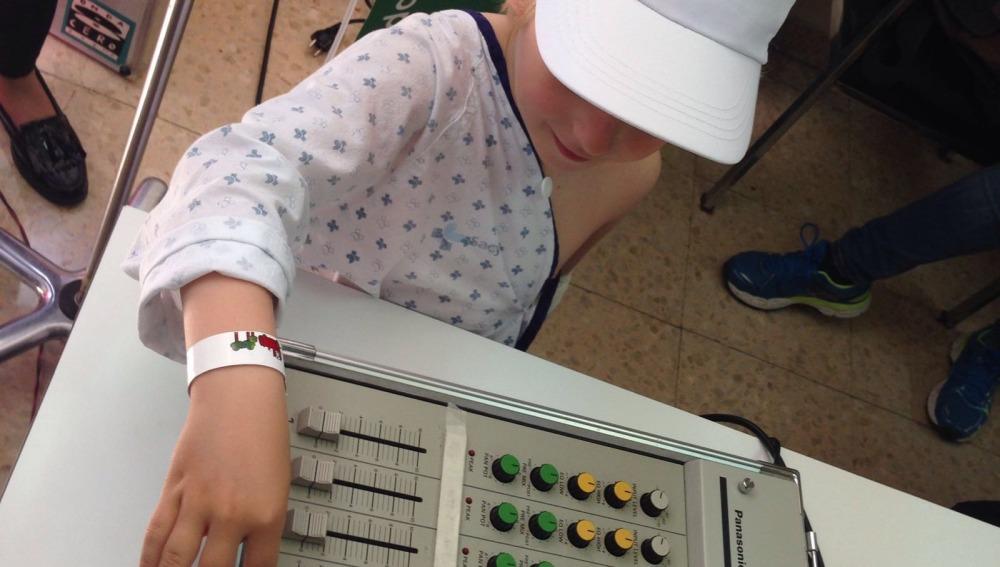 La magia de la radio en el Hospital de Salamanca