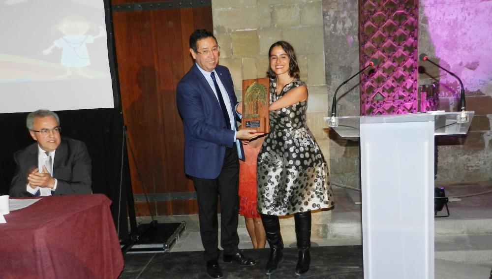 Lary León, Premio ASPID 2016 a la comunicación