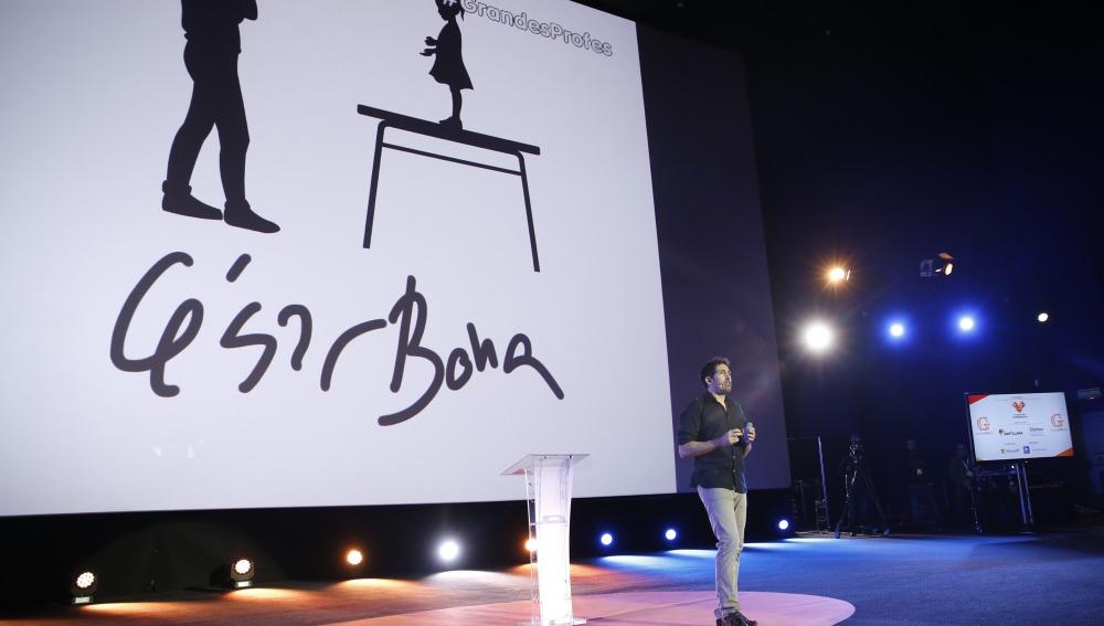Cesar Bona en el encuentro 'Grandes Profes 2016'