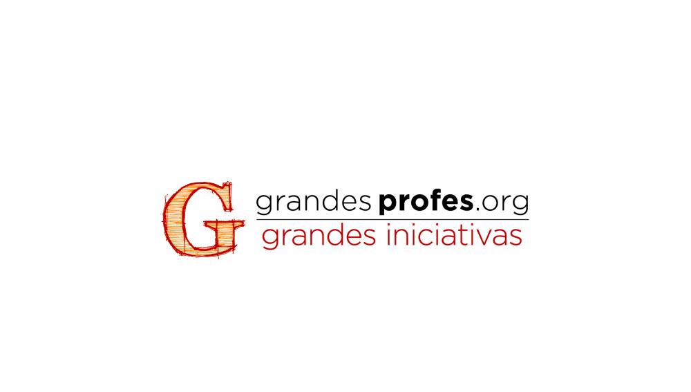 Logo Grandes Profes, Grandes Iniciativas