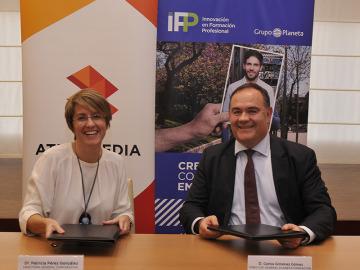 Atresmedia Formación e iFP-Grupo Planeta se unen para impulsar la FP en el sector audiovisual