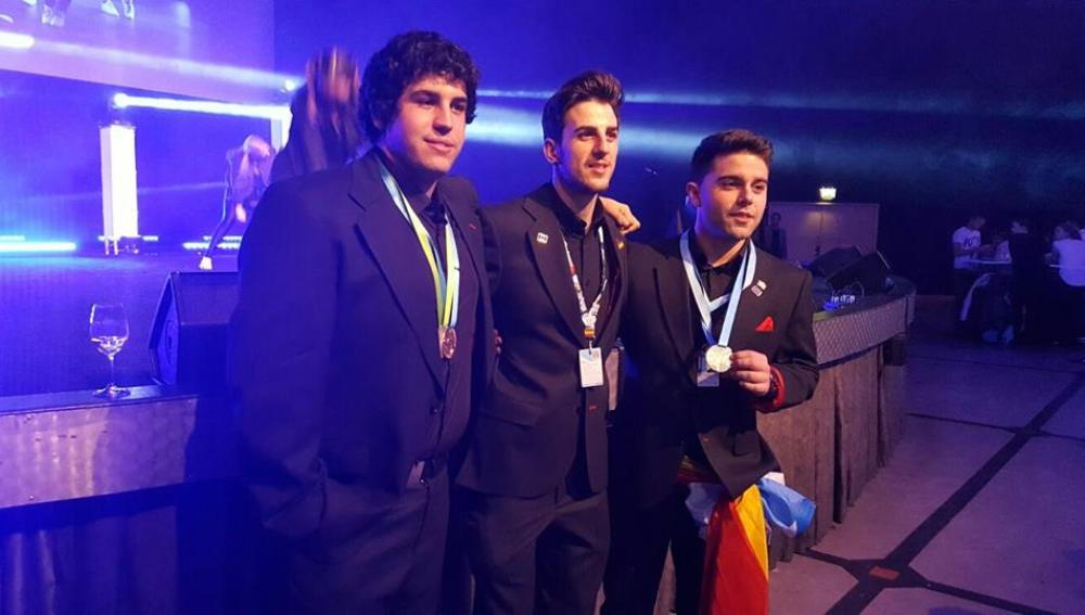 Medallistas españoles en Gotemburgo