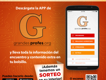 Descárgate la app de Grandes Profes
