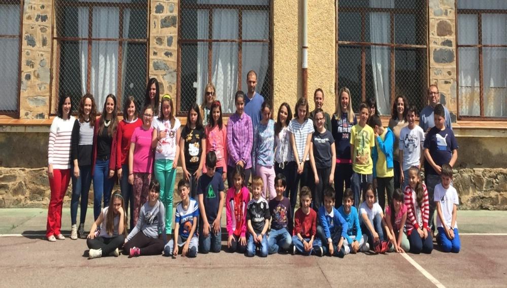 Alumnos Colegio CEIP Reyes Católicos