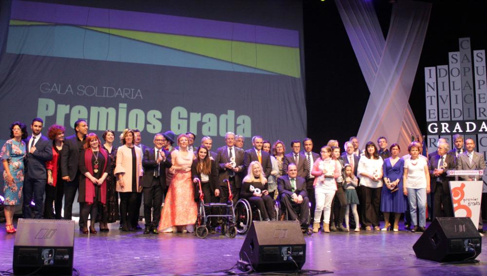 Una alumna de Proyecto Pro recibe el Premio Grada