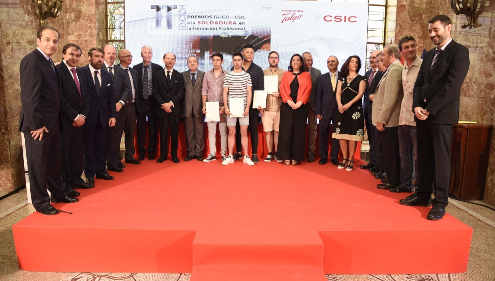II Premios a la Soldadura en la Formación Profesional