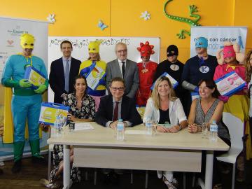 Seis superhéroes llegan a las Islas Baleares para ayudar a niños con cáncer