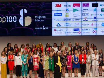 Carmen Bieger asiste a la gala Top 100 Mujeres Líderes que reconoce el valor de las mujeres en la sociedad