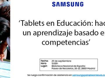 'Tablets en educación', un estudio sobre el impacto tecnológico en las aulas